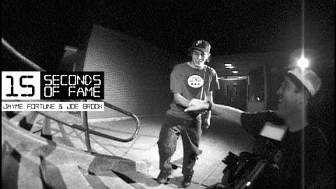 Digital 15 Seconds of Fame - Jayme Fortune & Joe Brook - digitalskateboarding
