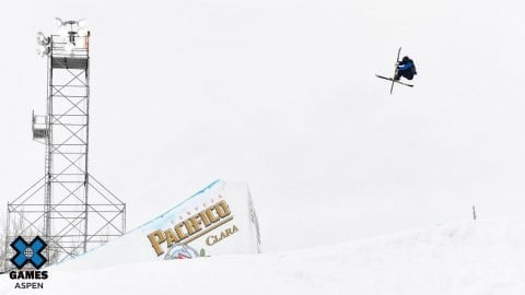 Elias Syrjä Tops The Real Cost Men's Ski Big Air Elimination | X Games Aspen 2020 | X Games