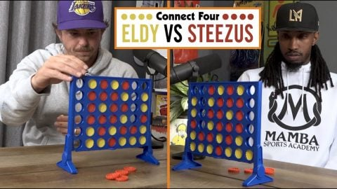 Epic Match Of Connect 4 !! - Eldy Vs Steezus | The Nine Club Highlights