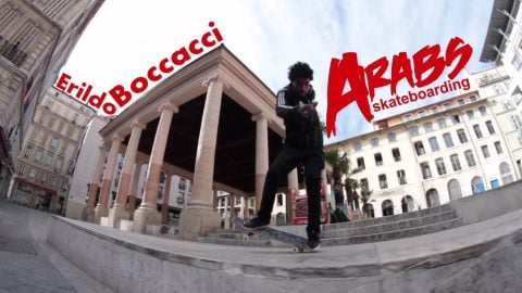 Erildo Boccacci Arabs skateboarding part 2015 - LeSiteDuSkateboard Videos