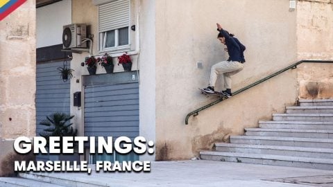 Explore Skate Spots In France's Oldest City  |  GREETINGS FROM MARSEILLE, FRANCE | Red Bull Skateboarding