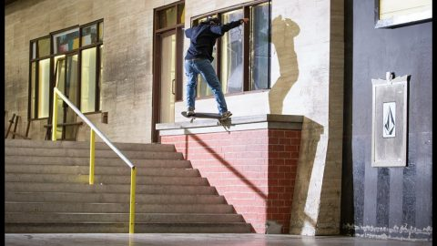 Fakie FS Crook Fakie Flip The Outledge?! | The Berrics