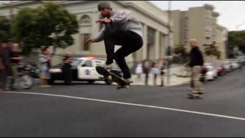 FASTEST HILL BOMB CONTEST SF | Snack Skateboards