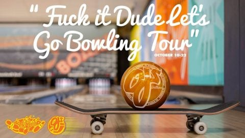 F*ck It Dude Let's Go Bowling | OJ Wheels MidWest Tour | OJ Wheels