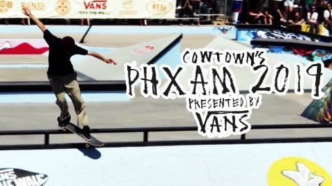 Final Live Stream  |  Cowtown's PHXAM 2019 presented by Vans | Red Bull Skateboarding