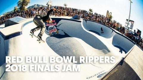 Finals Skate Jam Session at Red Bull Bowl Rippers 2018 | Red Bull