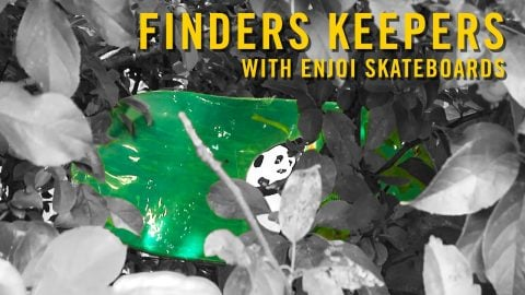 Finders Keepers with Enjoi Skateboards | Woodward