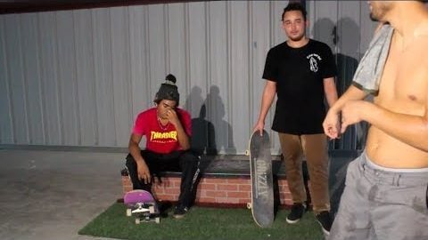 First Game at the MAJER Warehouse | MAJER Crew