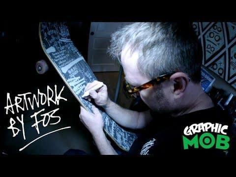 """FOS x Graphic MOB Grip - Mark """"FOS"""" Foster Design Process - Mob Grip"""