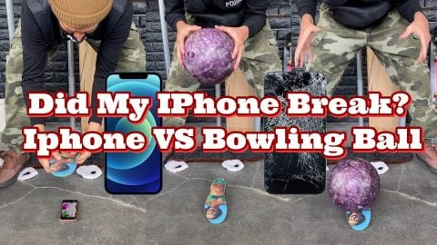 FP INSOLES IPHONE VS BOWLING BALL | Joey Brezinski