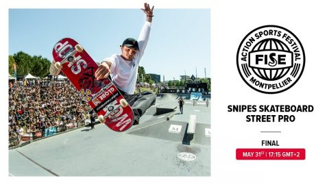 FWS 2019 MONTPELLIER: Snipes Skateboard Street Pro Final | FISE
