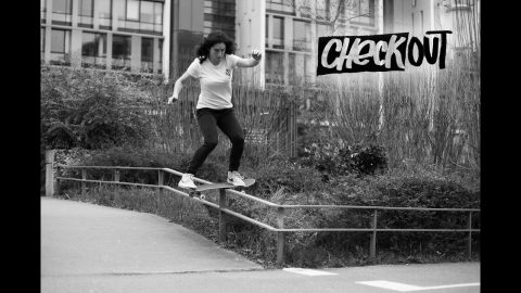 Get Familiar With French Skateboarder Charlotte Hym  |  CHECKOUT | Red Bull Skateboarding