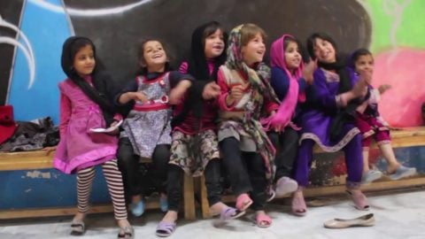 Give Her Five: A Message From Founder and Executive Director of Skateistan Oliver Percovich - Skateistan