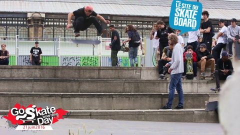Go skateboarding day Paris 2016 - LeSiteDuSkateboard Videos