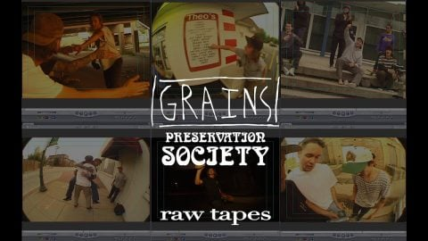 GRAINS 2 Raw Tapes | kevin delgrosso