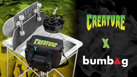 Hesh Sesh with The Bumbag Co! Collab OUT NOW! | Creature Skateboards