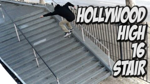 HOLLYWOOD HIGH 16 STAIR SESSION !!! - A DAY WITH NKA - Nka Vids
