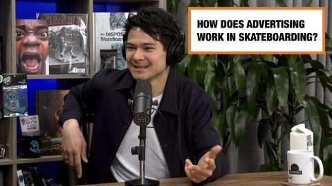 How Advertising Works in Skateboarding - Ian Michna   The Nine Club Highlights