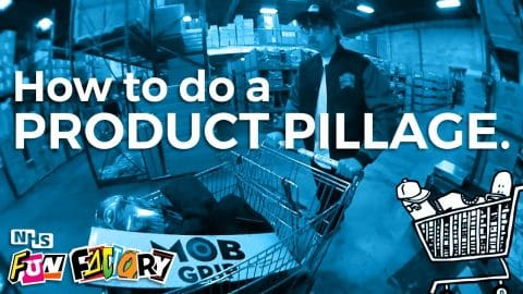 How To Do A Product Pillage - NHS Fun Factory