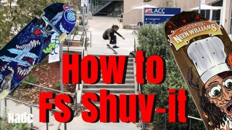 How To Fs Shuv-It NADC Neenos Essentials | Neen Williams