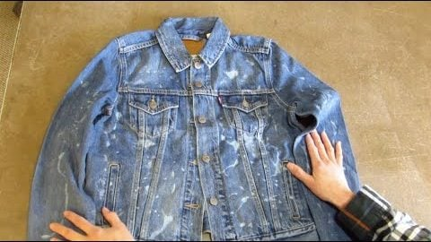 How to Gel Bleach a Jean Jacket⎜Levi's®   Levi's®