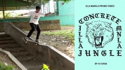 "ILLA MANILA ""Concrete Jungle"" Promo Video - ILLA MANILA"