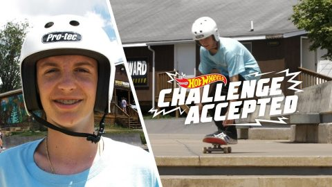 Impossible The 8 Stair - Hot Wheels Challenge Accepted | Woodward