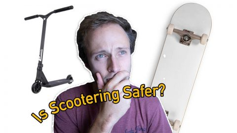 Is Scootering Safer than Skateboarding? | Max Williams