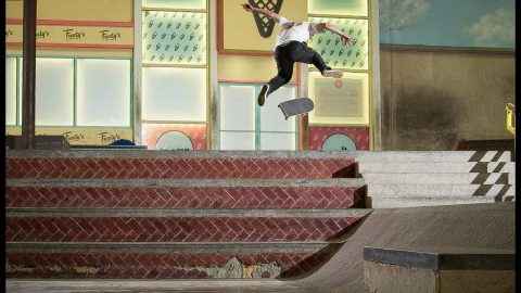 Is This The Gnarliest Trick Ever Done At The Berrics?! | The Berrics