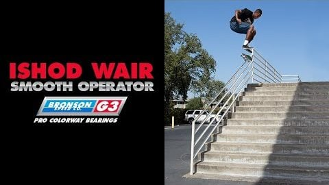 Ishod Wair: G3 Pro Colorway Bearings | Bronson Speed Co.