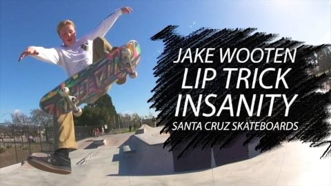 Jake Wooten's Lip Trick Insanity on the Watsonville hip | Santa Cruz Skateboards