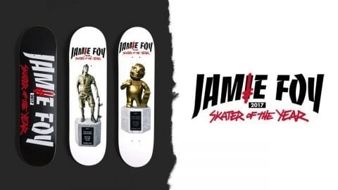 Jamie Foy Deathwish SOTY Boards Coming March 2 - Deathwish Skateboards
