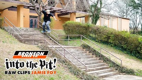 Jamie Foy In A Pinch | Into The Pit RAW | Bronson Speed Co.