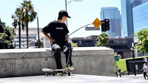 L.A. SKATE LIFE OF A FOREIGN JAPANESE KID | Luis Mora