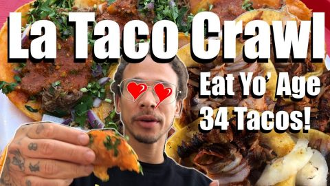 La Taco Crawl Eat your age! NADC | Neen Williams