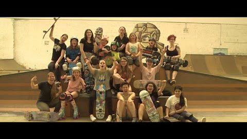 Ladies Skate Night - Fargo Skateboarding | Max Williams