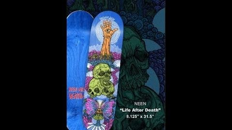 Life after death deathwishskateboards neeno's essentials | Neen Williams