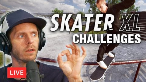 LIVE! Completeing Challenges In Skater XL | Chris Roberts