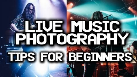 Live Music Photography Tips for Beginners with Denis Cheng | Max Williams