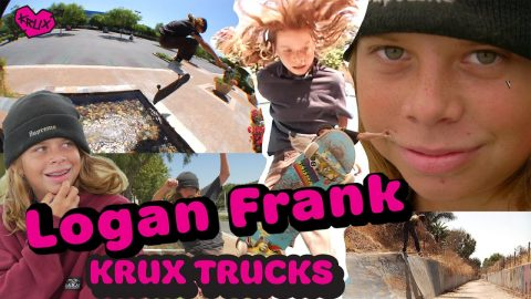 Logan Frank: FULL PART! | Krux Trucks | Krux Trucks