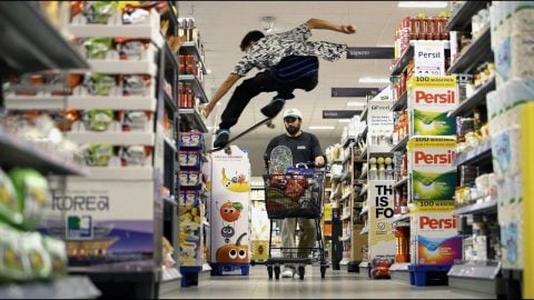 Lost in the supermarket: Radio goes shopping | SOLO Skateboard Magazine