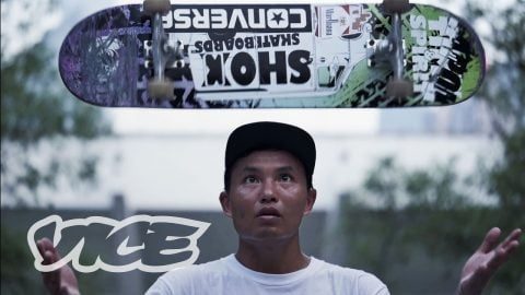Luo Jian Shen Is a Small Skater Known for Big Tricks - VICE