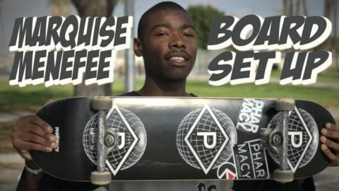 MARQUISE MENEFEE BOARD SET UP & INTERVIEW !!! - Nka Vids