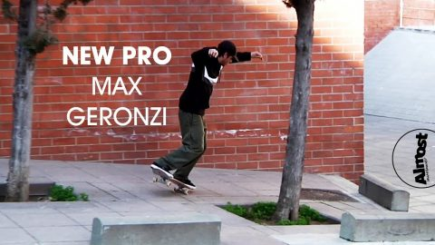 MAX GERONZI NEW ALMOST PRO | Almost Skateboards