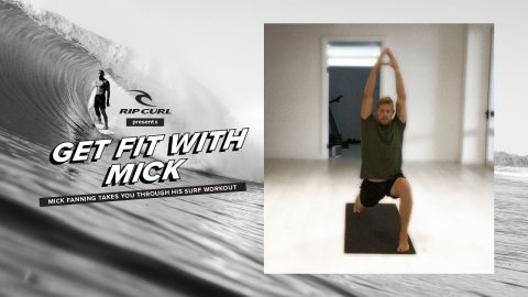 Mick Fanning Takes You Through His At-Home Surf Workout | Rip Curl