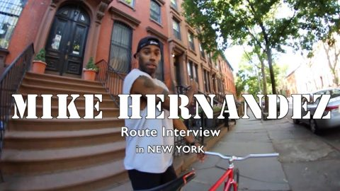 Mike Hernandez - Route Interview in New York - SKATEBOARDING PLUS