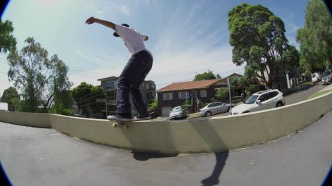 Milton Martinez High Speed Line Down Under | Independent Trucks