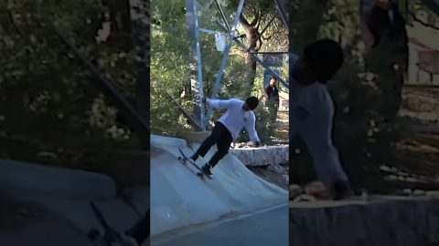 Milton Martinez INSANE wallride from 'Que Saguaro' � - Volcom