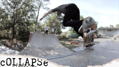 Minirampin' with George Poole | cOLLAPSe skateboards