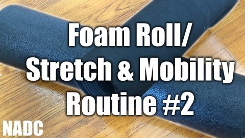 Morning Foam Roll/ Stretch and mobility routine #2 NADC | Neen Williams